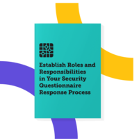 RACI Chart Template for Project Managing Security Questionnaires