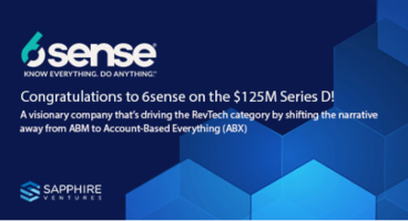 """The Rise of AB""""X"""" and the RevTech Revolution: Why We're Backing 6sense - Sapphire Ventures"""