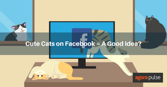 When Is Posting Cute Cats for Facebook Likes a Good Idea?