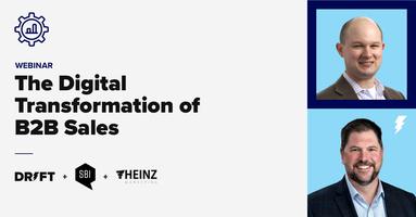 Webinar: The Digital Transformation of B2B Sales