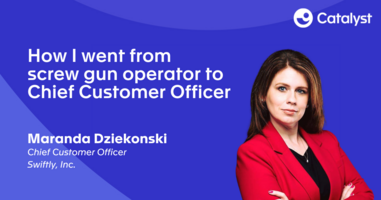 How I Went From Screw Gun Operator To Chief Customer Officer
