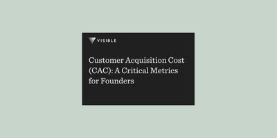Customer Acquisition Cost (CAC): A Critical Metrics for Founders