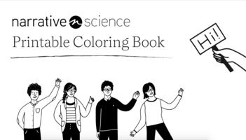 Narrative Science Coloring Book