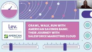 Crawl, Walk, Run with American Savings Bank: Their Journey with Salesforce Marketing Cloud