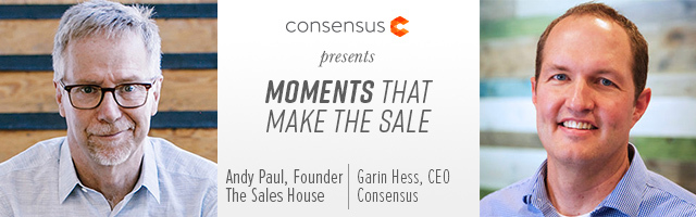 Webinar: Moments That Make the Sale With Andy Paul