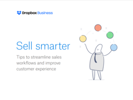 Dropbox Business for Sales Teams