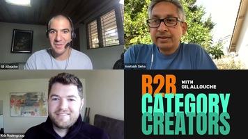 B2B Category Creators Episode 10: Kris Rudeegraap and Amitabh Sinha