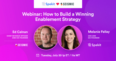 How to Build a Winning Enablement Strategy - webinars