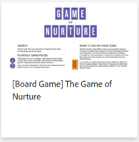 [Board Game] The Game of Nurture