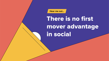 Hear me out... Social isn't about innovation. It's about who can do it best