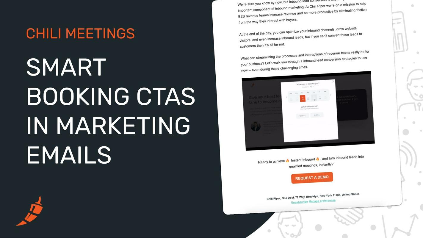 Add Smart Booking CTAs to Your Marketing Campaigns