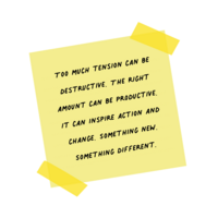 How to use tension in your storytelling