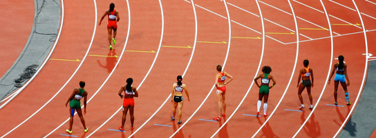 How to Go for the Gold When Your Competitors Are Ahead