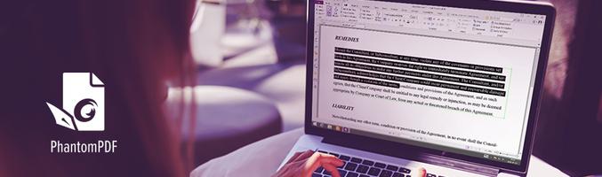 Basic PDF editing skills-how to edit PDF text using Foxit PhantomPDF - Foxit PDF Blog