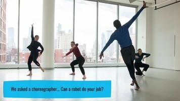 Can a robot choreograph a dance?