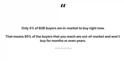How to provide value to your future buyers who are currently out-of-market