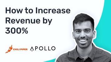 How Apollo Used Chili Piper to Increase Revenue by 300%