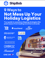 9 Ways to Not Mess Up Your Holiday Logistics