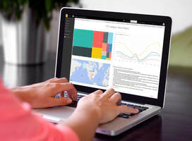 Actionable insight delivered with stories in Tableau dashboards