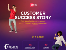 CUSTOMER STORY SUCCESS: This sales call center increased script compliance by 10X.Here is how