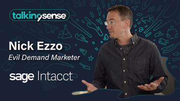 Enabling Personalized Marketing with Nick Ezzo, VP of Demand Gen at Sage Intacct
