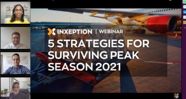 WEBINAR RECAP: 5 STRATEGIES FOR SURVIVING PEAK SEASON 2021