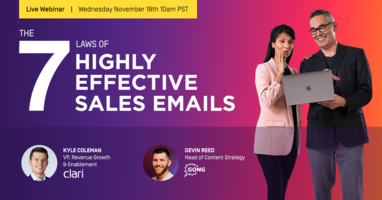 The 7 Laws of Highly Effective Sales Emails Webinar