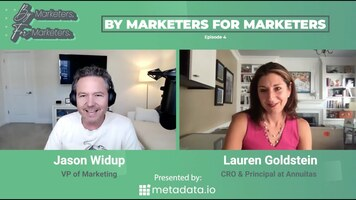 By Marketers, For Marketers Episode 4: ABM History and Perpetual Demand w/ Lauren Goldstein