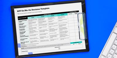 Go/No-Go Decision Tool [RFP Response Template]