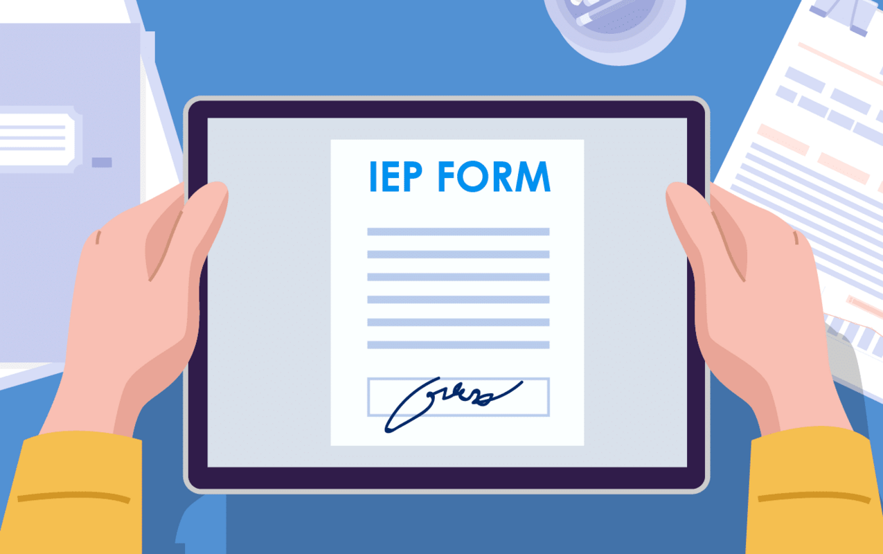 How to sign IEP forms remotely with SignEasy