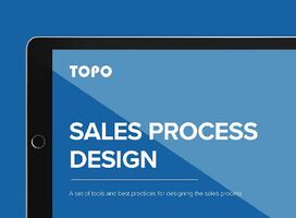 Analyst Research: TOPO's 2019 Sales Process Design