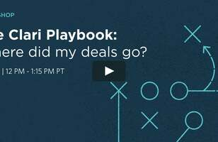 On-Demand-The Clari Playbook: Where did my deals go? 6/2