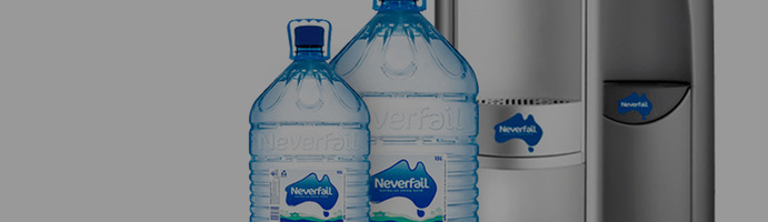 Neverfail Spring Water doubles website sales