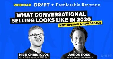 Webinar: What Conversational Selling Looks Like in 2020