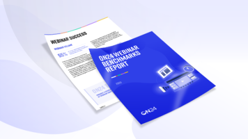 ON24 Webinar Benchmarks Report 2020
