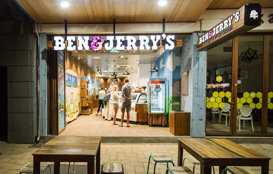Ben & Jerry's - Sharing files with partners in retail