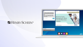 Case Study: Henry Schein Boosts Pipeline and Doubles Webinar Cadence with ON24