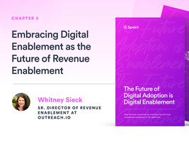 Revenue Enablement & Digital Enablement with Outreach.io