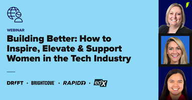 Webinar: How to Inspire, Elevate, and Support Women in the Tech Industry