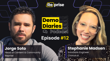 Demo Diaries, ep. 12: Knowing What Pain And Success Looks Like To Your Partners – Reprise