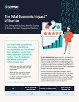 Forrester's Total Economic Impact of 6sense Report