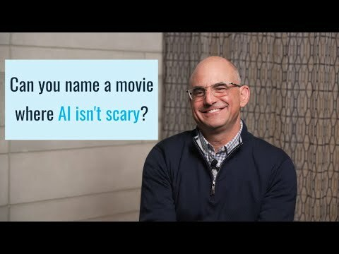 Can you name a movie where AI isn't scary?