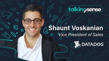 Building a Sales Engine with Shaunt Voskanian, VP of Sales at Datadog