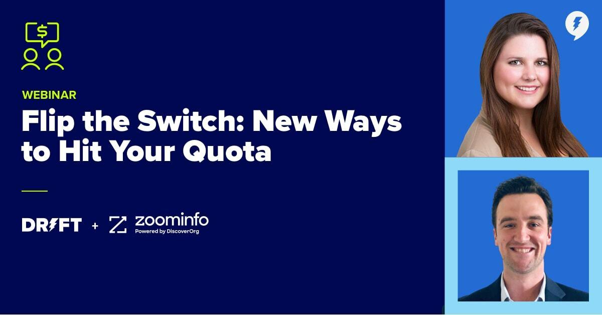 Webinar: New Ways to Hit Your Quota