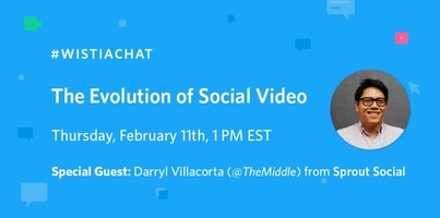 #WistiaChat with Sprout Social: The Evolution of Social Video