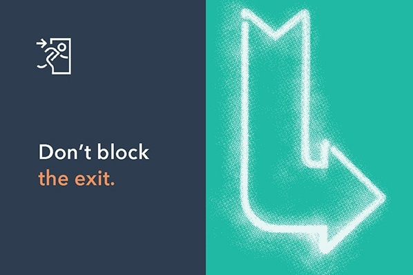 Don't Block the Exit [The Customer Code Series]