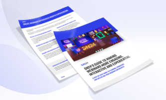 eBook: ON24's Guide to Making Webinars More Engaging, Interactive and Experiential