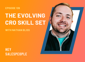 The Evolving CRO Skill Set with Nathan Bliss