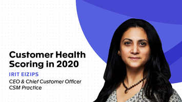 Customer Health Scoring in 2020
