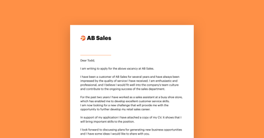 5 Tips: How to Write a Cover Letter for a Job Application [+Samples]